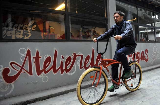 Noile biciclete Pegas - sursa foto: jurnalul.ro