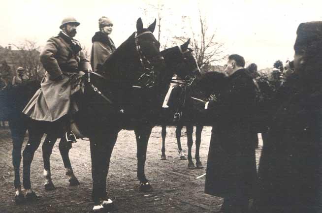 1 Decembrie 1918, întoarcerea regilor României Mari