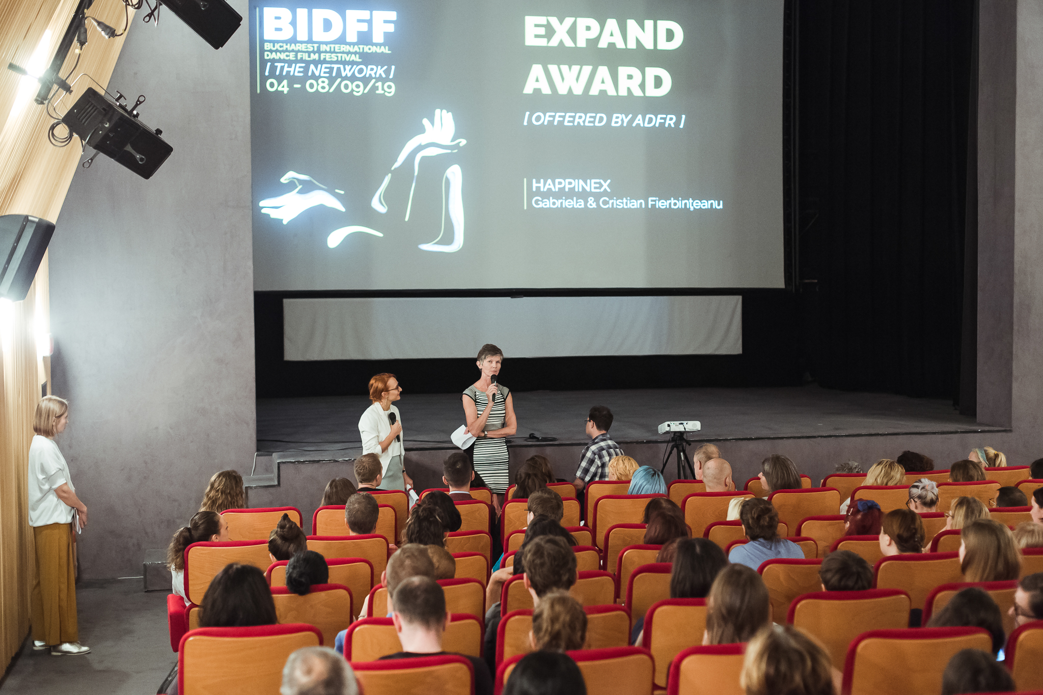 Cea de-a cincea ediție a Bucharest International Dance Film Festival  și-a desemnat câștigătorii