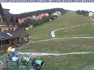 Webcam                               Transalpina Ski Resort - Plecare                               Telegondola 1350 m