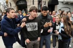 Messi, la un pas de a fi agresat de un fan: