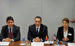 """Ponta, după întâlnirea de la Casa Albă: """"Mesajul a fost foarte clar: «Fiţi puternici voi înşivă, fiţi puternici economic. Democraţia are succes numai dacă economia are succes»"""""""