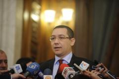 Ponta: Preşedintele Traian Băsescu ar trebui să demisioneze imediat