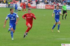 Fotbal - Scor alb în partida dintre CSM Râmnicu Vâlcea şi UTA Bătrâna Doamnă Arad din etapa a 18-a a Ligii a II-a