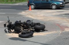 Accident mortal pe DN1, un motociclist a murit