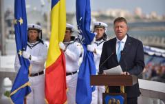 Iohannis cu ocazia Zilei Marinei: Suntem un pilon de stabilitate şi furnizor de securitate în regiune