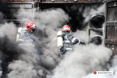 GALERIE FOTO - Interventia dramatică a pompierilor la incendiul de la căminul de bătrâni