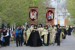 FOTO Pelerinajul creştin-ortodox de Florii în Bucureşti