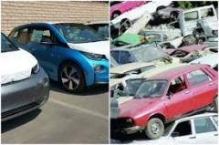 Românii cumpără din ce în ce mai multe maşini ecologice. Salturi de peste 50% prin programul Rabla