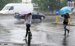 Vreme instabilă în Bucureşti, de luni după-amiază până miercuri seară