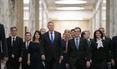 Iohannis a chemat toţi miniştrii la raport, la Cotroceni