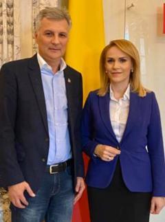 Gabriela Firea anunță intrarea în echipa PSD București a senatorului Daniel Zamfir