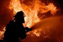Incendii de vegetaţie la <a class=