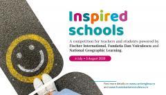 1000 de premii pentru participanții la concursul Inspired Schools