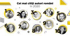 Curtea Veche Publishing: cei mai citiți autori în 2020