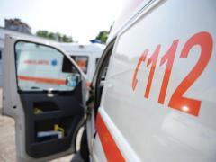 Un copil a căzut de la etajul 6 al unui imobil din București