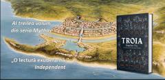 Troia, de Stephen Fry: pasiuni uriașe se confruntă cu idealuri înalte și viclenii josnice