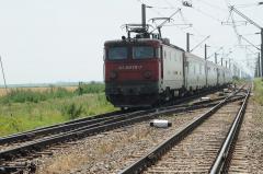 S-a reluat circulația cu locomotive electrice între Fetești și Bărăganu