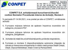 conpet s a achizitioneaza bunuri servicii lucrari 18760016