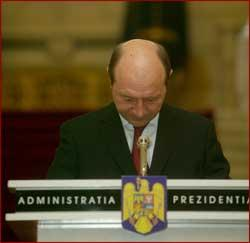 Suspension  -  27 charges against Basescu