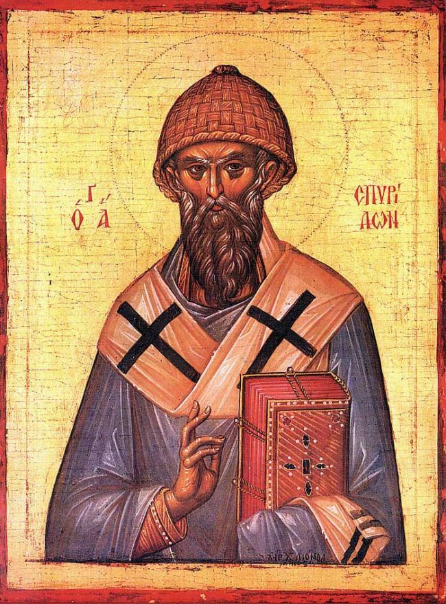 Sfântul Spiridon, făcătorul de minuni