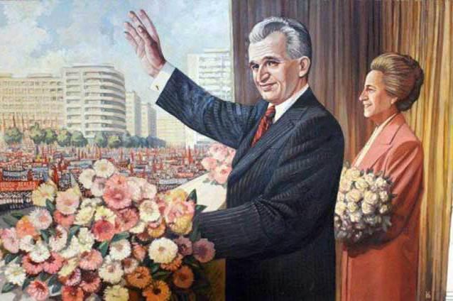 Resultado de imagen para nicolae ceausescu y esposa