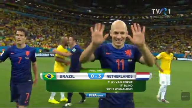 CAMPIONATUL MONDIAL de FOTBAL. Olanda a câştigat finala ...