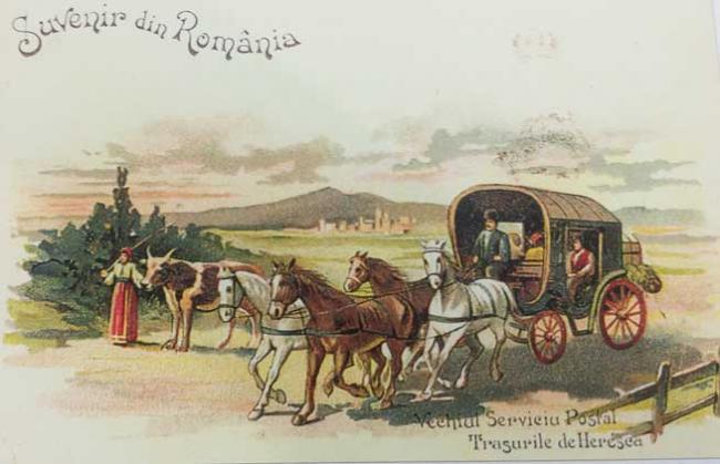Bucureşti 555, Poştalionul, ştafeta care ducea veştile