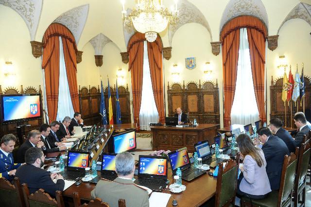 Şedinţă CSAT, convocată de Băsescu la Palatul Cotroceni