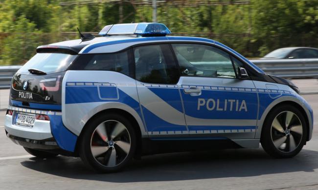 Cum arată maşina electrică a Poliţiei Capitalei