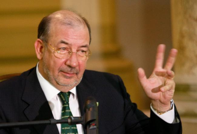 """Pensionarul-şef de la """"banca pensionarilor"""""""