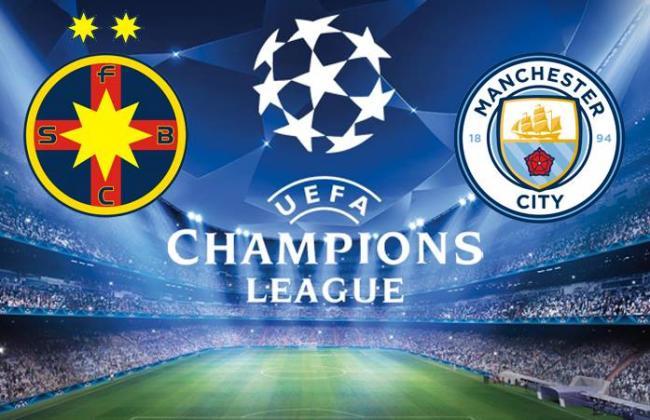 Liga Campionilor: Steaua, surclasată de Manchester City cu 5-0, la Bucureşti