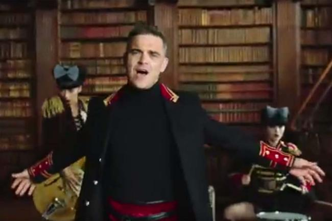 VIDEO - De ce ultimul hit al lui Robbie Williams i-a iritat pe ruși