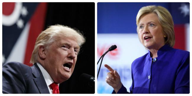 Dezabatere Trump - Clinton. Hillary Clinton: Își bate joc de femei/ Trump: Bill Clinton a molestat femei