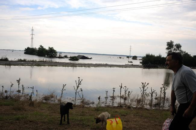 Ploiestiul inundating
