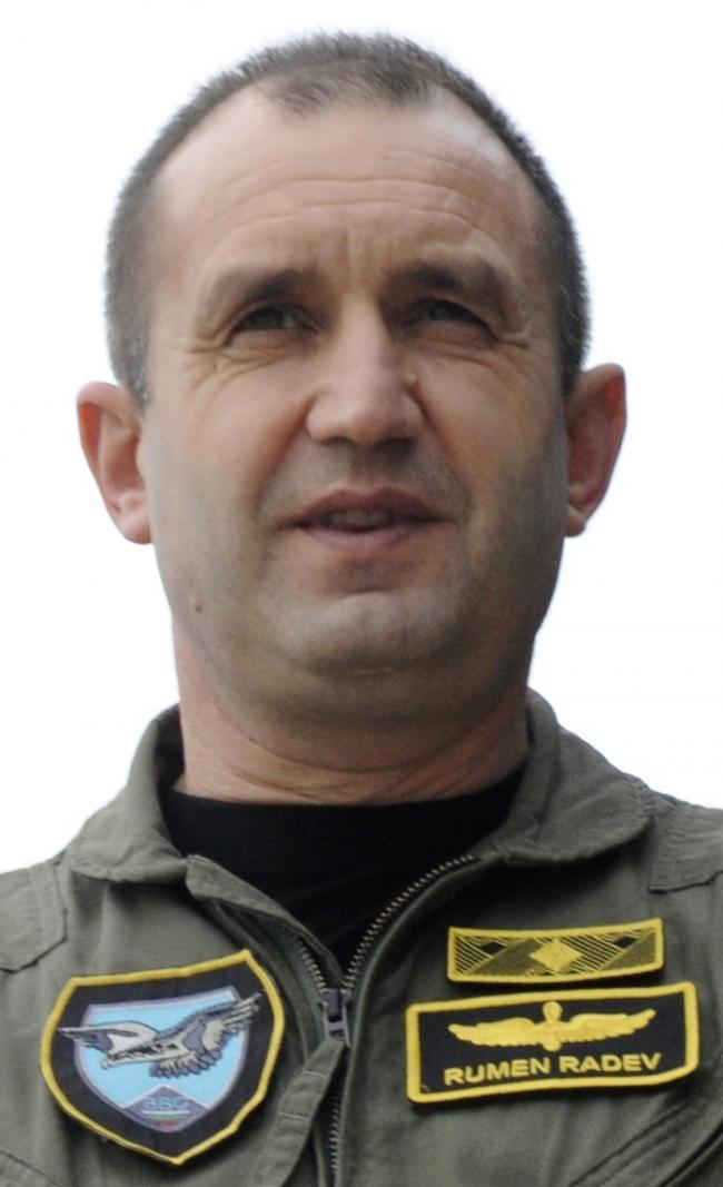 Rumen Radev, noul preşedinte al Bulgariei