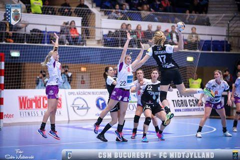 Liga Campionilor handbal feminin: Victorie importantă pentru CSM Bucureşti