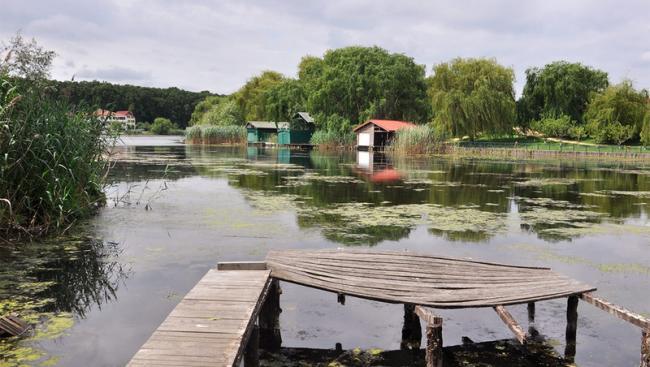Barieră către lac pentru îmbogățiții de la Snagov