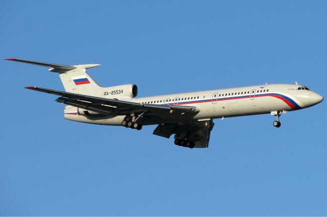 Rusia suspendă zborurile avioanelor TU-154 după prăbuşirea unui aparat de acest tip în Marea Neagră