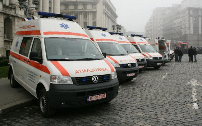 Ambulanta Bucuresti-Ilfov: 942 de solicitari primite vineri in intervalul 8,00 - 20,00