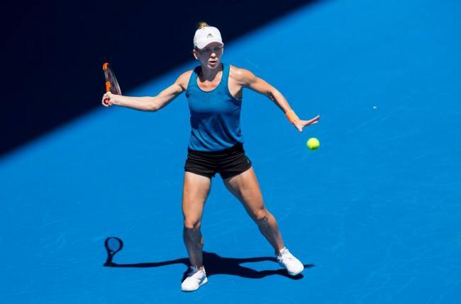 Simona Halep, învinsă în primul tur la Australian Open