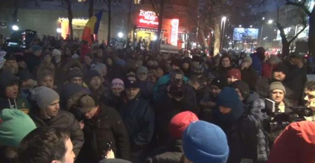 Zeci de mii de români au protestat iar împotriva graţierii