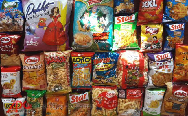 Analiza APC Romania - Ce contin pufuletii din comert