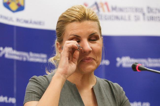 Sentinţă pentru Elena Udrea, în dosarul Gala Bute. Câţi ani însumează condamnarea