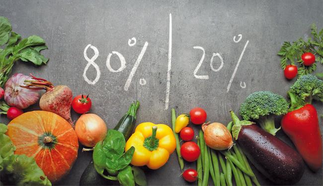 80/20 - dieta in care poÈ›i manca dulciuri