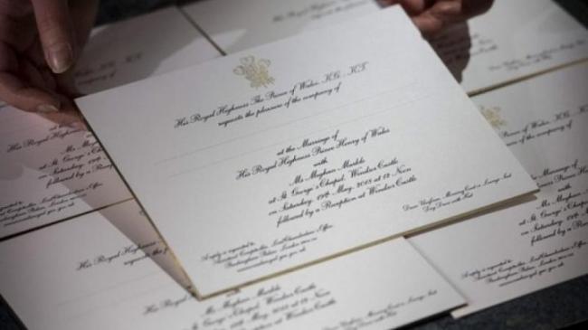 Casa Regală Britanică A Trimis 600 De Invitaţii La Nunta Prinţului