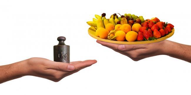 Cura de slabire sanatoasa se face consumand zilnic din toate principiile alimentare