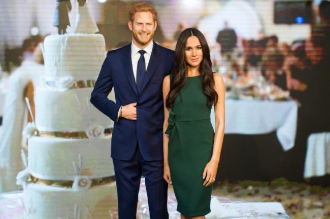 Nuntă Regală Statuile De Ceară Ale Lui Harry şi Meghan Prezentate