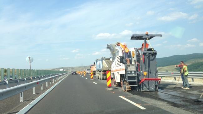 Anunţ infotrafic! Luni se desfăşoara lucrări de întreţinere pe Autostrada Soarelui