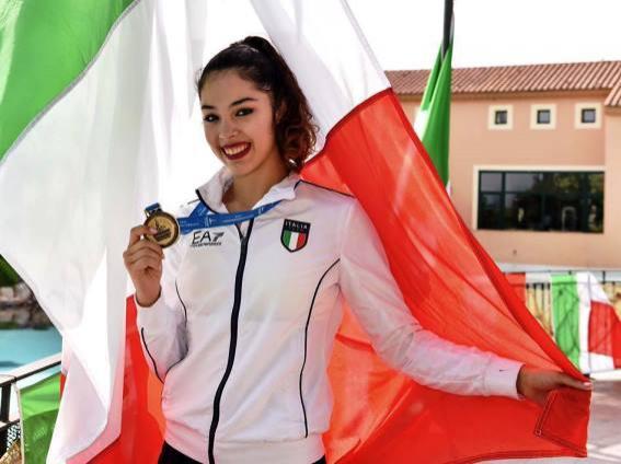 O româncă a câştigat o medalie istorică pentru Italia
